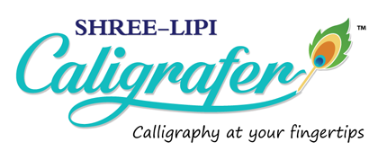 Shree-Lipi Caligrafer, Caligraphy at your finger tips